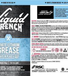 GUNK Liquid Wrench White Lithium Grease #L616- 10.25 oz.